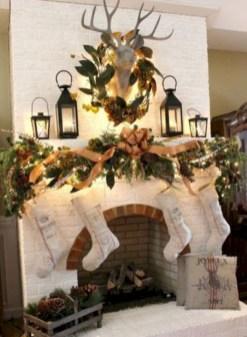 Stunning indoor rustic christmas decoration ideas 27