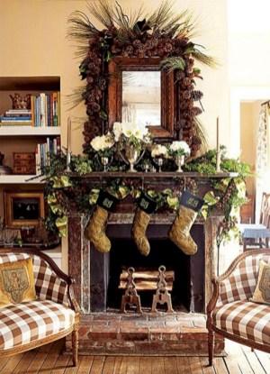 Stunning indoor rustic christmas decoration ideas 30