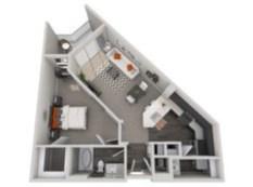 Stylish studio apartment floor plans ideas 03