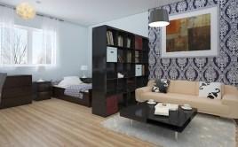 Stylish studio apartment floor plans ideas 41
