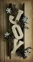 Stylish wood christmas decoration ideas 02