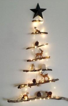 Stylish wood christmas decoration ideas 13