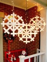 Stylish wood christmas decoration ideas 28