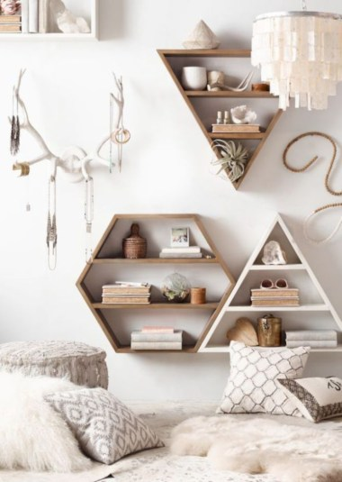 Unique and modern wall shelves beautiful storage ideas 01