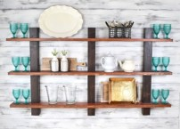 Unique and modern wall shelves beautiful storage ideas 09