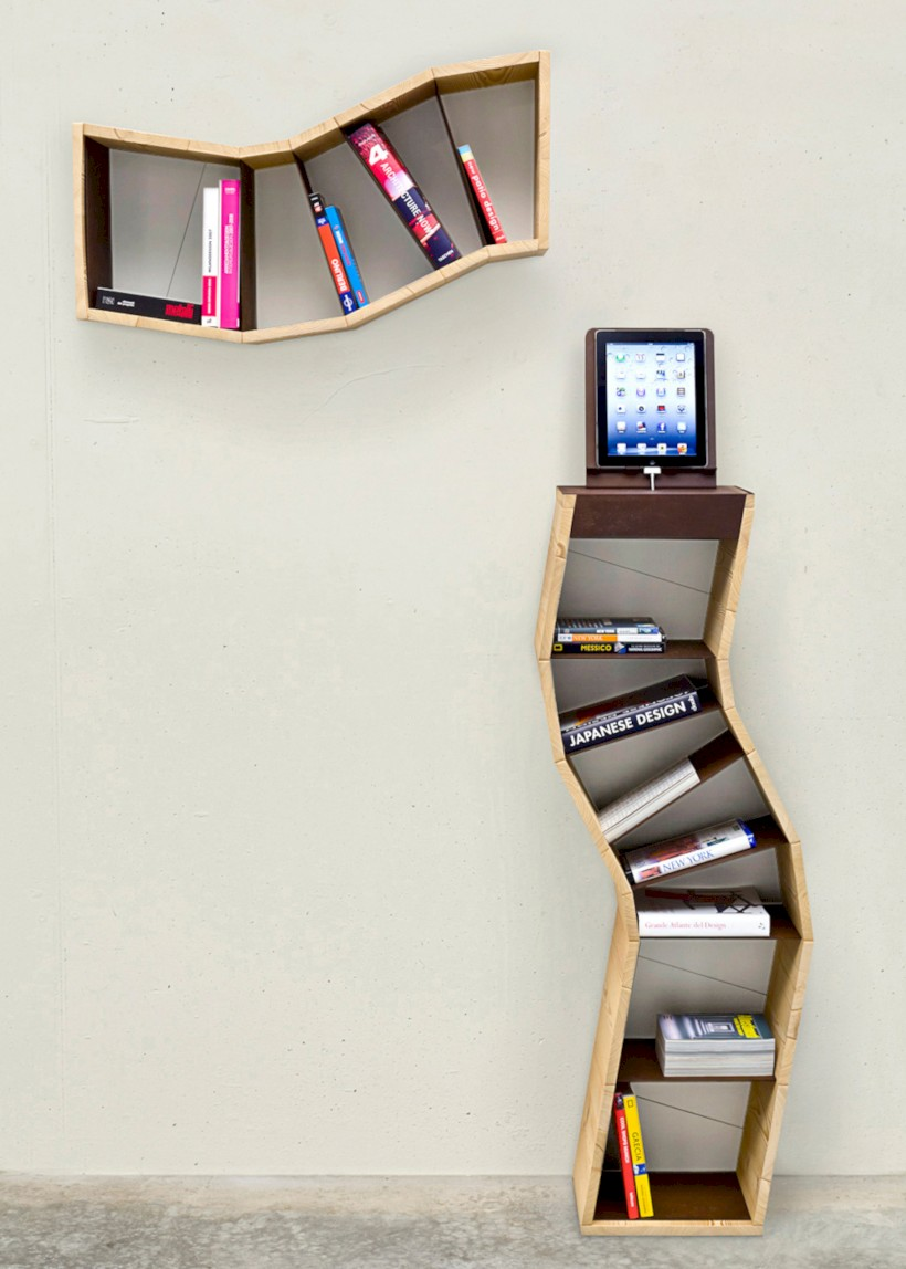 Unique and modern wall shelves beautiful storage ideas 10