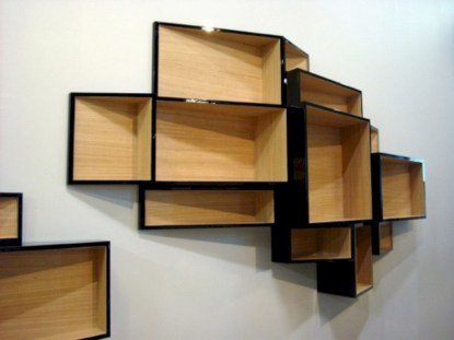 Unique and modern wall shelves beautiful storage ideas 17