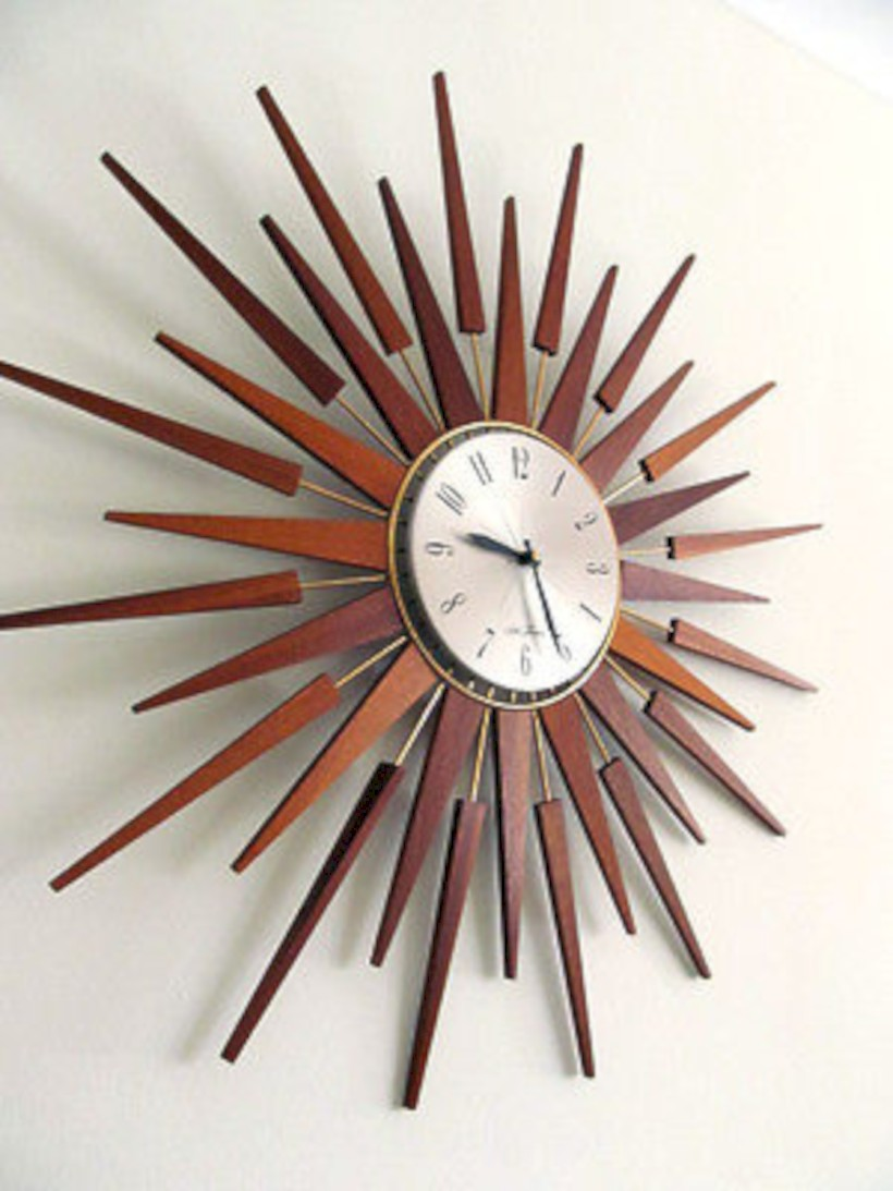 Unique modern style wall clocks inspirations ideas 09
