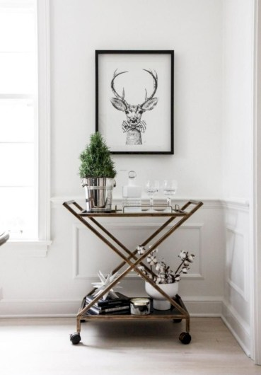Affordable apartment coffee bar cart inspirations ideas 26