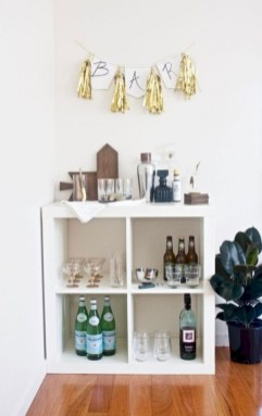 Affordable apartment coffee bar cart inspirations ideas 32