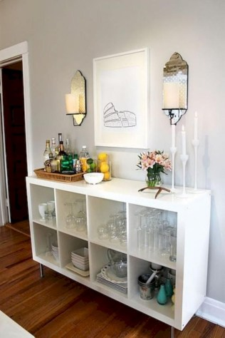 Affordable apartment coffee bar cart inspirations ideas 42