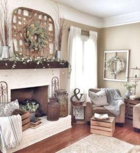 Attractive farmhouse wall decor inspirations ideas (21)