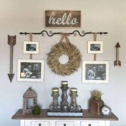 Attractive farmhouse wall decor inspirations ideas (33)