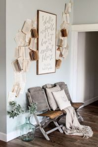 Attractive farmhouse wall decor inspirations ideas (34)