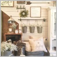 Attractive farmhouse wall decor inspirations ideas (35)