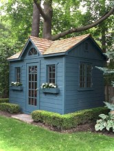 Awesome garden shed design ideas 40