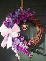 Awesome valentine wreaths ideas for your front door 04