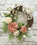 Awesome valentine wreaths ideas for your front door 06