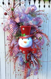 Awesome valentine wreaths ideas for your front door 12