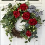 Awesome valentine wreaths ideas for your front door 27