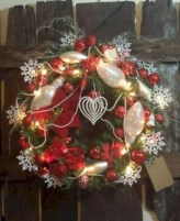 Awesome valentine wreaths ideas for your front door 38