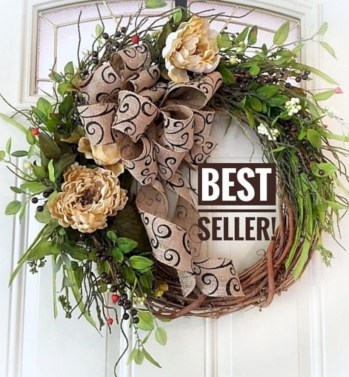 Awesome valentine wreaths ideas for your front door 41
