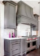 Beautiful gray kitchen cabinet design ideas 04