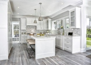 Beautiful gray kitchen cabinet design ideas 06