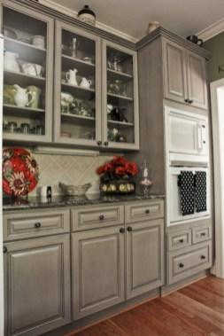Beautiful gray kitchen cabinet design ideas 09