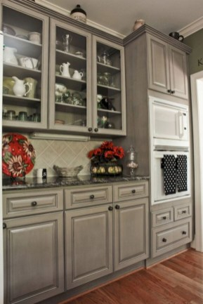 Beautiful gray kitchen cabinet design ideas 09