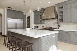 Beautiful gray kitchen cabinet design ideas 15