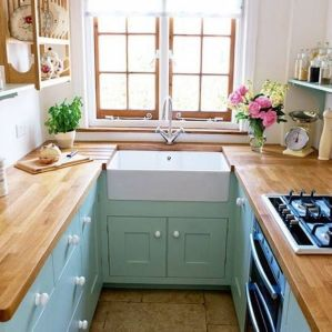 Best small kitchen remodel design ideas 44