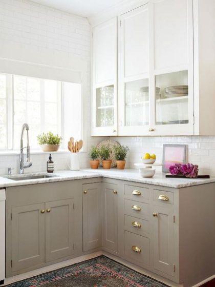Best small kitchen remodel design ideas 46