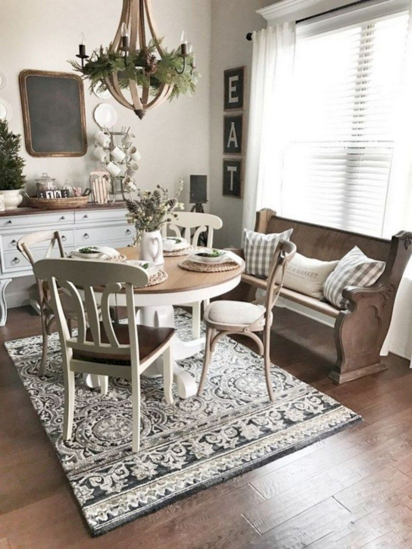 Best tips to makes farmhouse decoration style easily (26)