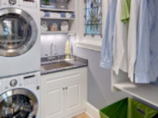Brilliant small laundry room storage organization ideas on a budget 20
