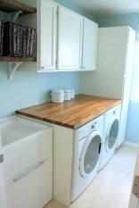 Brilliant small laundry room storage organization ideas on a budget 23