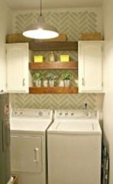 Brilliant small laundry room storage organization ideas on a budget 26