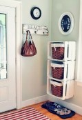 Brilliant small laundry room storage organization ideas on a budget 41