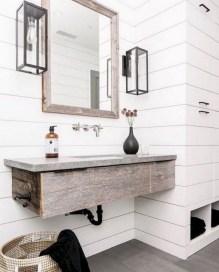 Captivating small farmhouse bathrooms decoration ideas (11)