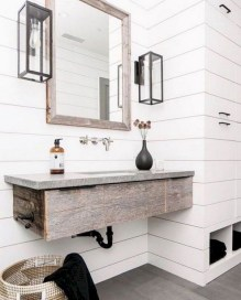 Captivating small farmhouse bathrooms decoration ideas (11)