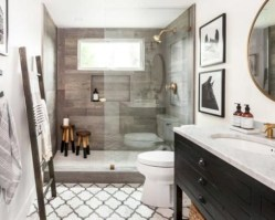 Captivating small farmhouse bathrooms decoration ideas (7)