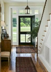 Catchy farmhouse rustic entryway decor ideas 24