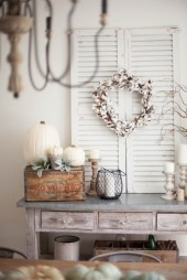 Catchy farmhouse rustic entryway decor ideas 33