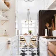 Classic shabby chic vintage kitchens design decor (1)