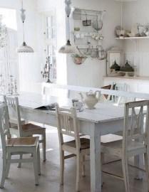 Classic shabby chic vintage kitchens design decor (14)