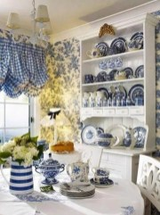 Classic shabby chic vintage kitchens design decor (22)