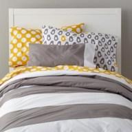 Comfy grey yellow bedrooms decorating ideas (13)