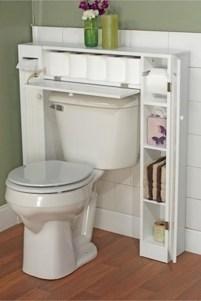 Cool bathroom storage shelves organization ideas 06