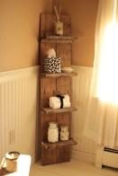 Cool bathroom storage shelves organization ideas 37