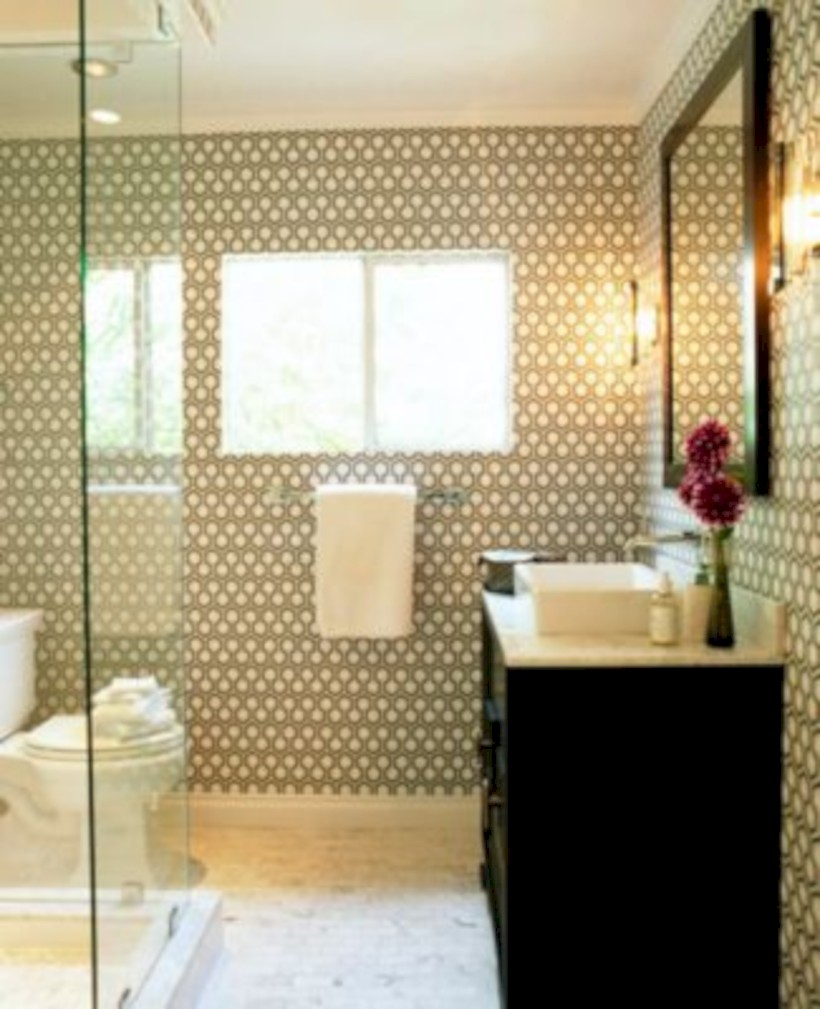 Cool modern geometric concept bathroom designs ideas (21)